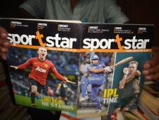 INDIA   - SPORTSTAR MAGZINE   2014   -  13  IN 1 LOT