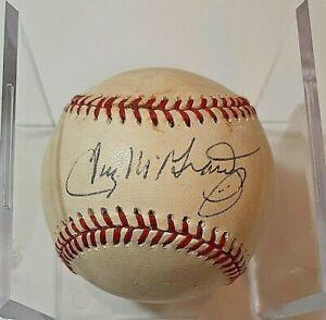 Tug McGraw Autograph Rawlings Little League Leather Baseball Auto
