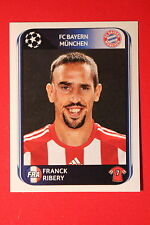PANINI CHAMPIONS LEAGUE 2010/11 # 288 FC BAYERN MÜNCHEN RIBERY BLACK BACK MINT!