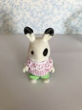 Sylvanian Families Ingrid BlackBerry Rabbit Figure Bunny Camping