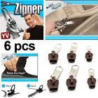 Hot TV 6Pcs Fix A Zipper Zip Slider Rescue Instant Repair Kit Replacement LP