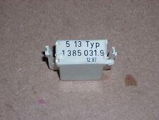 BMW E28 528e OBC II OBC2 On Board Computer Coding Plug 5-13 Typ PN# 1385031