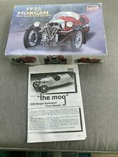Rare Minicraft 1/16 scale 1935 Morgan Three Wheeler. Complete with sealed bags.