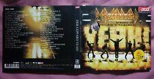 2CD- DEF LEPPARD -2006- Yeah - Mr BIG - David Bowie Thin Lizzy T-Rex David Essex