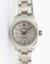 .Auth Rolex Oyster Perpetual 26 Steel Ladies Wrist Watch 176200