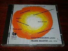 CD daniel SPIEGELBERG frank martin INTEGRALE pour PIANO SOLO 1991 gallo 636