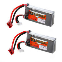 2x ZOP Power 3S 11.1V 1300mAh 30C T Plug LiPo Battery for QAV250 H210 LS180 W6Y4
