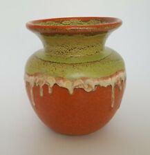 Elsterwerda Vase 1392/10 Keramik 17,4 cm Art Deco Laufglasur M.161