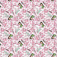 Princess Mulan 66995 Dreams Blossom 100% Cotton Fabric By the yard