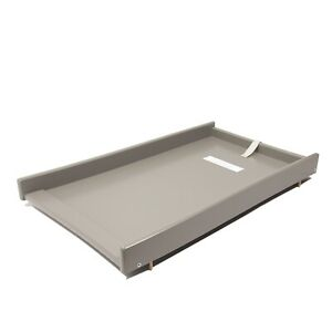 New Quality Grey Cot Top Changer / Cot Bed Top Changer - New Baby Changer Only