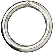 8mm x 40mm Mooring Round Rings Stainless Steel Marine Grade 316 FREE DELIVERY