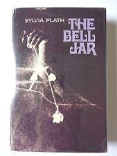 THE BELL JAR by SYLVIA PLATH 1971 FIRST EDITION BCE HC w/ DJ NOVEL DEPRESSION