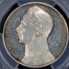 Medal 1914 PCGS SP58 German Empire Silver Crown Prince Wilhelm Proof
