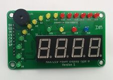 LED Bar Graph Power Display - RED - Arduino - ESP8266 - Raspberry Pi
