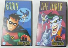 2x VHS The Adventures of Batman & Robin - Robin + The Joker