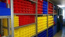 150 Sichtlagerboxen Größe 1 Sichtlagerkasten Stapelbox 1a-Qualität 88x105x54 mm