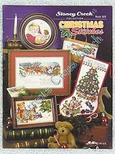 Cross Stitch Pattern Christmas Stitches Stocking Sc325