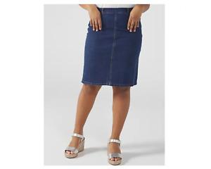 Ruth Langsford Denim Skirt Regular Indigo Size 8 BNWT