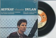 HUGUES AUFRAY: Aufray Chante Dylan - 4 track 2001 CD EP - reissue of 1966 vinyl
