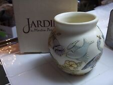 New listing Harmony Ball - Jardinia Morning Chorus Birds Flowers cachepot Retired