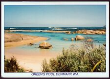 80c Living Together Arts GREEN'S POOL DENMARK WA POSTCARD Australia GB HARLEQUIN
