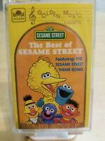 1987 The Best Of SESAME STREET Golden Music Big Bird Grover Cassette Tape