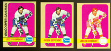 1972-73 TOPPS # 75 J. GUEVEREMONT PROGRESSIVE PROOF SET of 6 MINT UNIQUE 2-LOA's