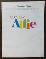 Alfie Handbook of Production Information 16pgs