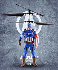 1PC CAPTAIN AMERICA ELECTRIC RC SENSOR RADIO REMOTE CONTROL KIDS BOY FLYING TOY