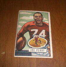 1951 BOWMAN FOOTBALL CARD 49ers JOE PERRY #105