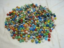 Large Estate Lot Marbles Clay Shooter Ox Blood Aggie Swirl Agate Tiger Glass