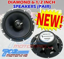 "DIAMOND DE652 6.5"" INCH CAR TRUCK MOTORCYCLE ATV SPEAKERS 240 WATTS MAX"