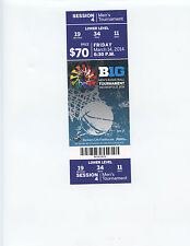 2014 BIG TEN TOURNAMENT SESSION 4 TICKET (MICHIGAN STATE, WISCONSIN, NW, MN)