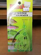 Mack's Lures Sledge Hammer Trolling Lure Chartreuse