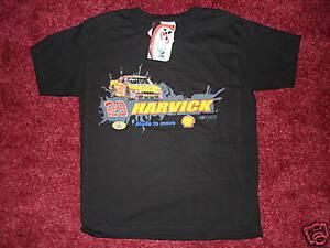 Kevin Harvick NASCAR T-Shirt BOYS LG New with Tags!!