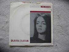 """DURAN DURAN - CARELESS MEMORIES  ORIGINAL VINYL 7"""" SINGLE"""