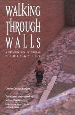 Walking through Walls : A Presentation of Tibetan Meditation by Geshe G. Lodro (