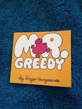 ROGER HARGREAVES, MR GREEDY. 0859850846. 1971