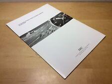 Salesfolder IWC Schaffhausen - Technical Visions have one Name: Ingenieur