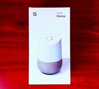 Google Home Smart Assistant White Slate US Speaker Google Assist New in Box
