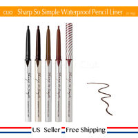 CLIO Sharp So Simple Waterproof Pencil Liner 0.005 Ounce 4Colors + FreeSample US