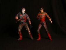 Freddy Krueger vs Jason Voorhees Figures McFarlane Movie Maniacs 1999