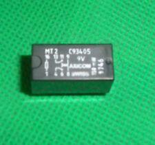 Axicom Relais MT 2 C93405 9V150mW 2x UM