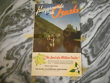 Old Vintage Playground of the Ozarks Souvenir Booklet Information Picture Photos