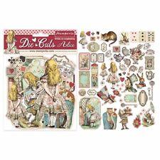Stamperia Alice Die-Cuts pack of 62 pieces