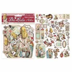 Alice Stamperia Die-Cuts pack of 62 pieces