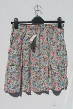 cath kidston size s bnwt crepe knee length skirt pink floral skirt green R1362