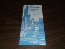 OCTOBER 1976 CHICAGO TRANSIT AUTHORITY ROUTE MAP
