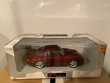 UT MODELS 1:18 PORSCHE 911 TURBO 993 RED DIECAST COMPLETE W/ ORIGINAL BOX RARE