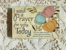 """""""I SAID A PRAYER FOR YOU TODAY""""  Pass it Along Cards  NEW in pkg 25 pc 3x2"""""""
